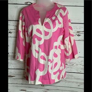 LILLY PULITZER Tunic Style Top S